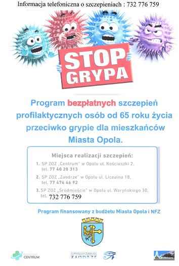 Informujemy o wstrzymaniu realizacji programu szczepień przeciwko grypie
