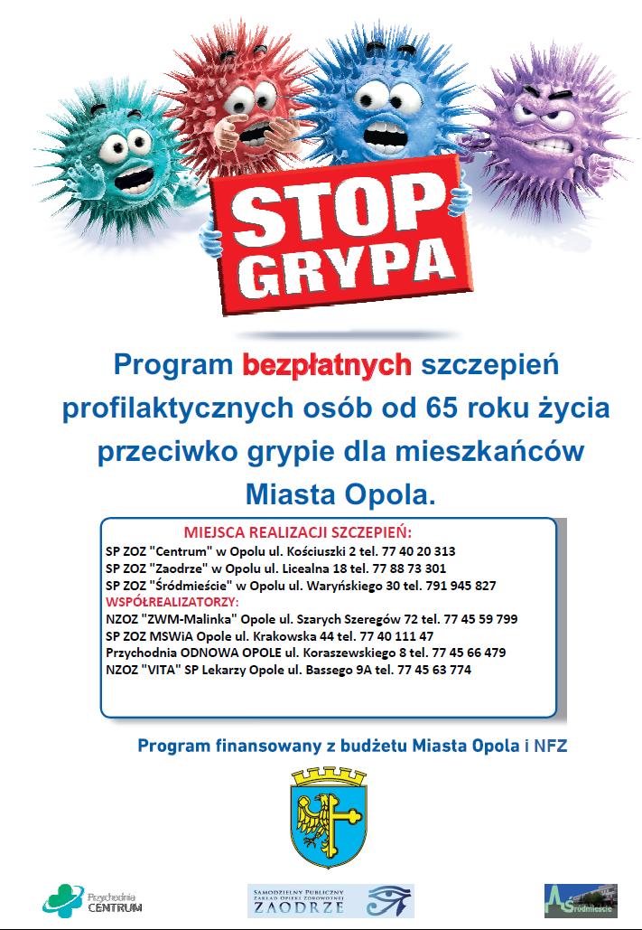 Informujemy o rozpoczęciu realizacji programu szczepień przeciwko grypie